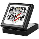 DeBoer Family Crest Keepsake Box