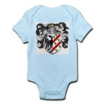 DeBoer Family Crest Infant Creeper