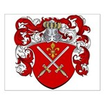 DeGroot Family Crest Small Poster