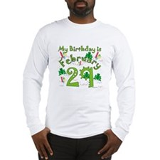 Leap Year Birthday Feb. 29th Long Sleeve T-Shirt