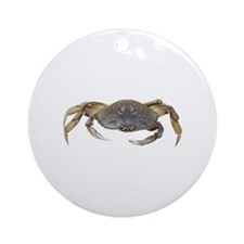 Dungeness Crab Ornament (Round)