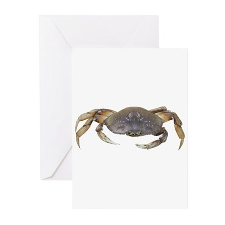 Dungeness Crab Greeting Cards (Pk of 20)