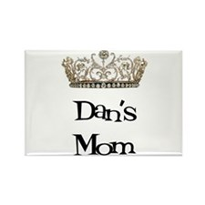 Dan's Mom Rectangle Magnet