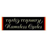 Nameless cycles Bumper Bumper Sticker