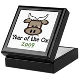 2009 Year of the Ox Keepsake Box