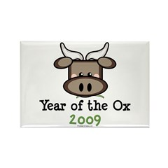 2009 Year of the Ox Rectangle Magnet (100 pack)