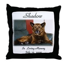 Custom personalized Pet Memorial Throw Pillow