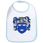 DeMoes Family Crest Bib