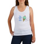 YOU MAKE ME MELT Women's Tank Top