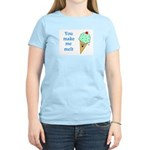 YOU MAKE ME MELT Women's Light T-Shirt