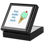 YOU MAKE ME MELT Keepsake Box