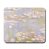 MONET Water Lilies 1916 brite Mousepad