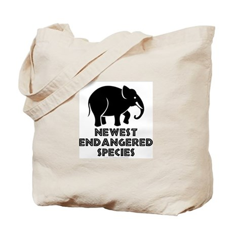 Endangered species. Tote Bag