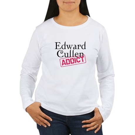 Edward Cullen Addict Women's Long Sleeve T-Shirt
