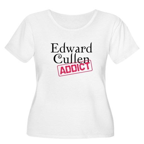 Edward Cullen Addict Women's Plus Size Scoop Neck 