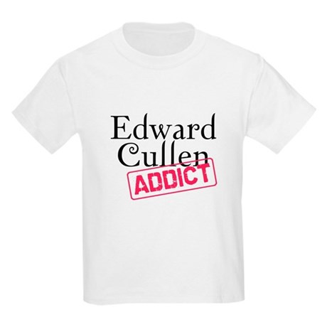 Edward Cullen Addict Kids Light T-Shirt