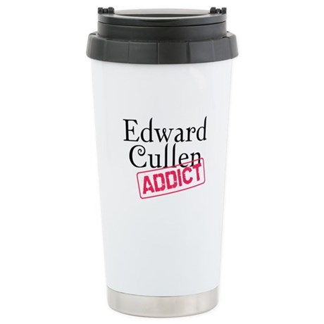 Edward Cullen Addict Ceramic Travel Mug