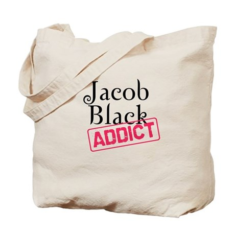 Jacob Black Addict Tote Bag