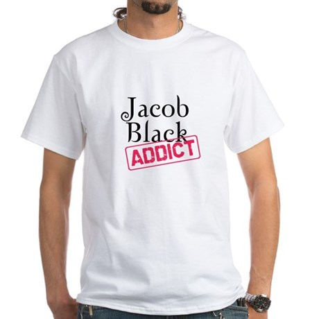 Jacob Black Addict White T-Shirt