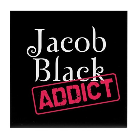 Jacob Black Addict Tile Coaster