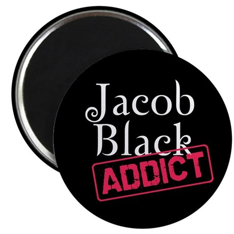 "Jacob Black Addict 2.25"" Magnet (100 pack)"
