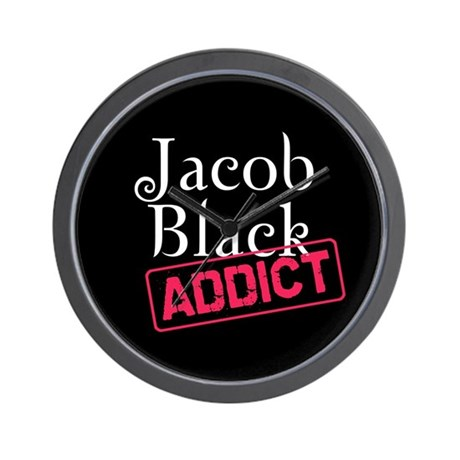 Jacob Black Addict Wall Clock