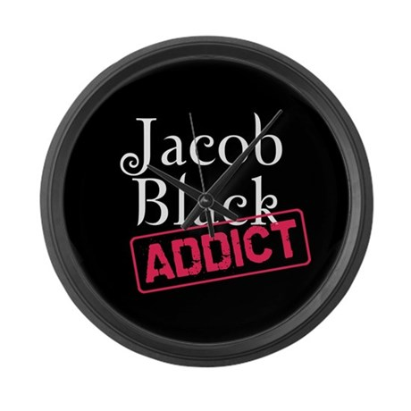 Jacob Black Addict Large Wall Clock