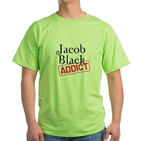 Jacob Black Addict Green T-Shirt
