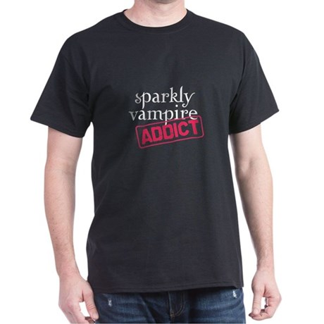Sparkly Vampire Addict Dark T-Shirt