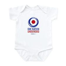 ONE NATION UNDERDOG Infant Bodysuit