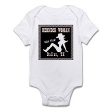Redneck Woman Dallas Texas Infant Bodysuit