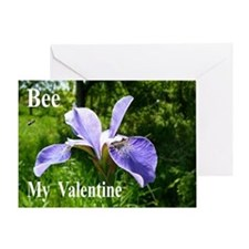Honey Bee with Iris Card