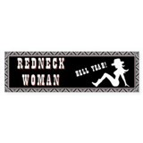 Redneck Woman Bumper Sticker