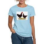 Dk Red Broiler Chickens Women's Light T-Shirt