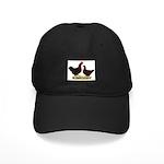 Dk Red Broiler Chickens Black Cap