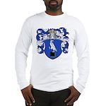 DeSitter Family Crest Long Sleeve T-Shirt