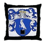 DeSitter Family Crest Throw Pillow