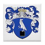 DeSitter Family Crest Tile Coaster