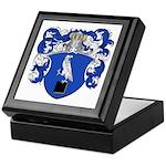 DeSitter Family Crest Keepsake Box