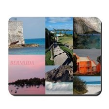 Bermuda Collage by Khoncepts Mousepad
