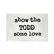 Show The Todd Rectangle Magnet