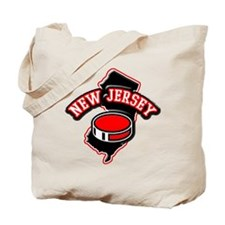 New Jersey Hockey Tote Bag
