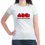 ARG! Cartoon Animation - Jr. Ringer T-Shirt