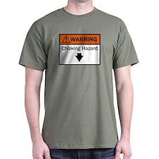 Safety first, with a darker shirt..