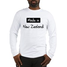 Made in New Zealand Long Sleeve T-Shirt