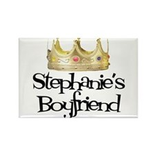 Stephanie's Boyfriend Rectangle Magnet