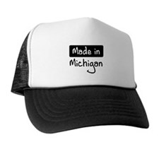 Made in Michigan Trucker Hat