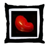 Sensuous Tomato Throw Pillow