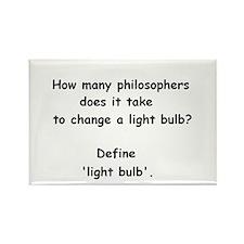 How many philosophers...change a light bulb? Recta
