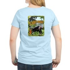 Costa Rica inspired Monkey Jungle Party TEE Light
